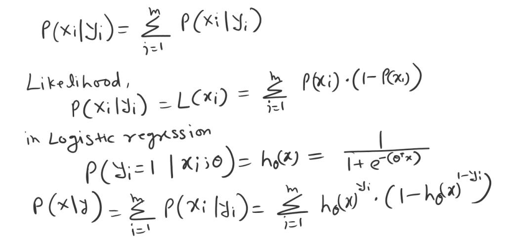 logistic regression likelihood